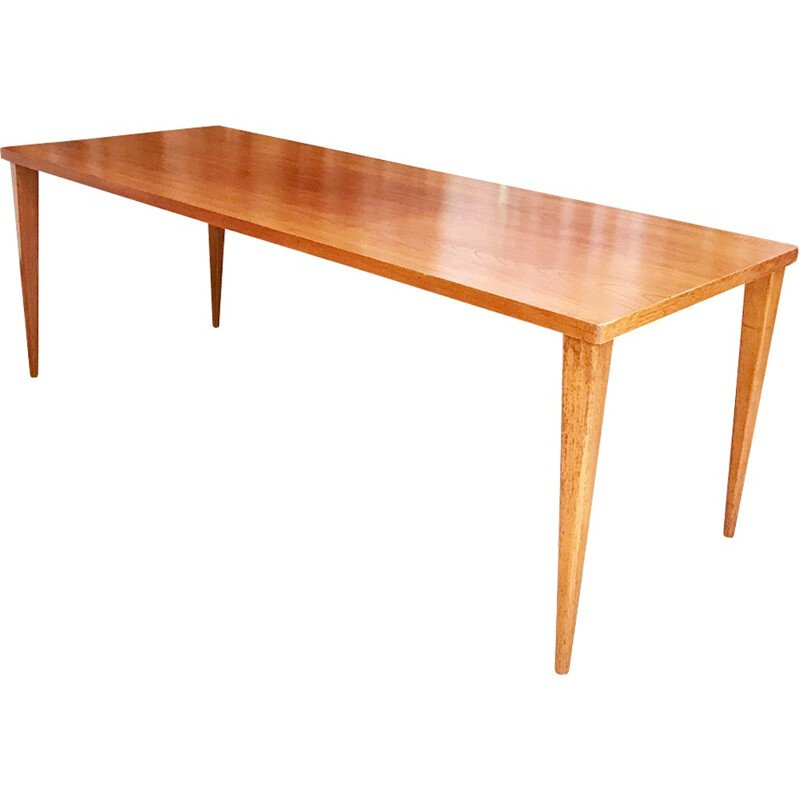 Teak dining table by Nanna Ditzel for Poul Kolds Savæerk, - 1950s