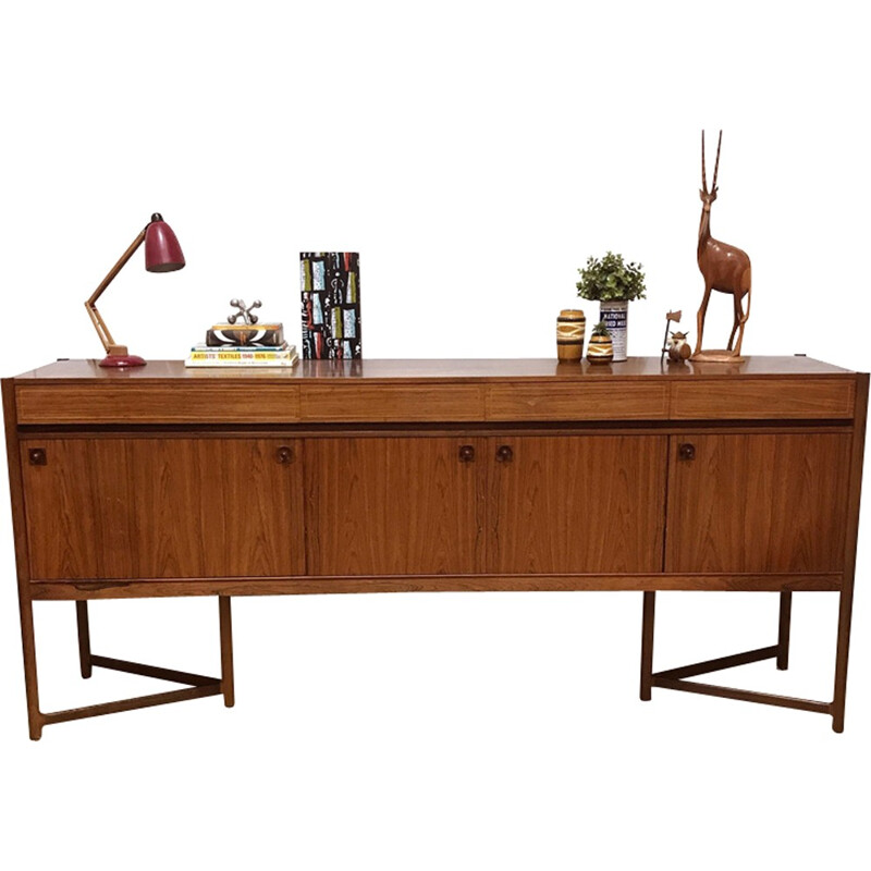 Mid-century rosewood sideboard produced by Mcintosh - 1960s