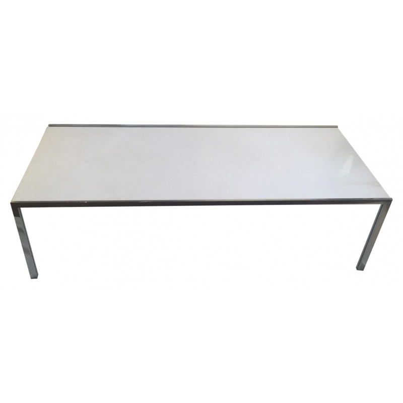 Coffee Table In White Carrara Marble Florence KNOLL 1950s Design