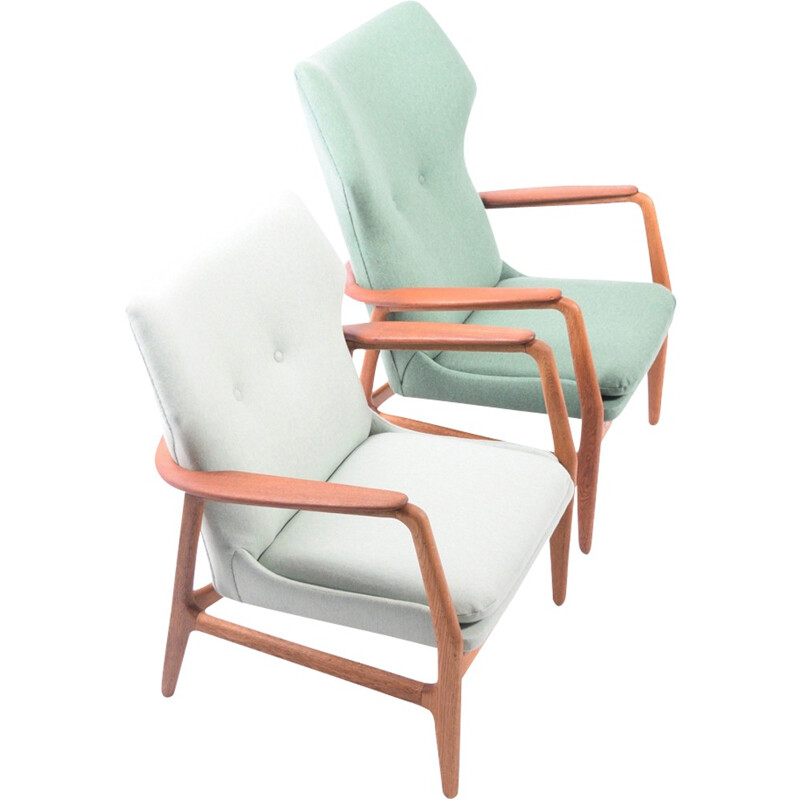 Pair of lounge chairs by Aksel Bender Madsen for Bovenkamp - 1950s