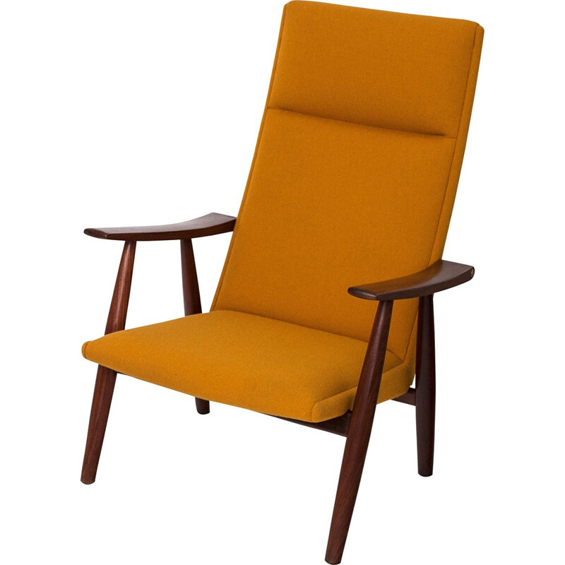 """""""GE 260a"""" lounge chair by Hans Wegner for Getama - 1950s"""