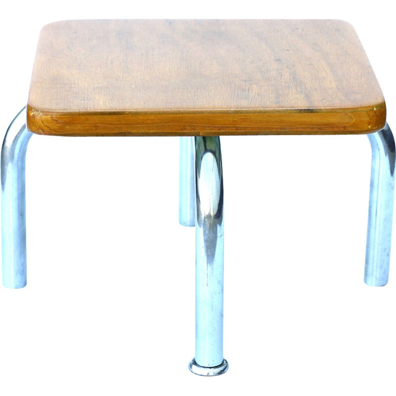 Mid-century small flower stand in wood - 1950s