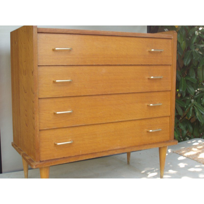 dresser mid chest drawers of products drawer century elm west acorn o