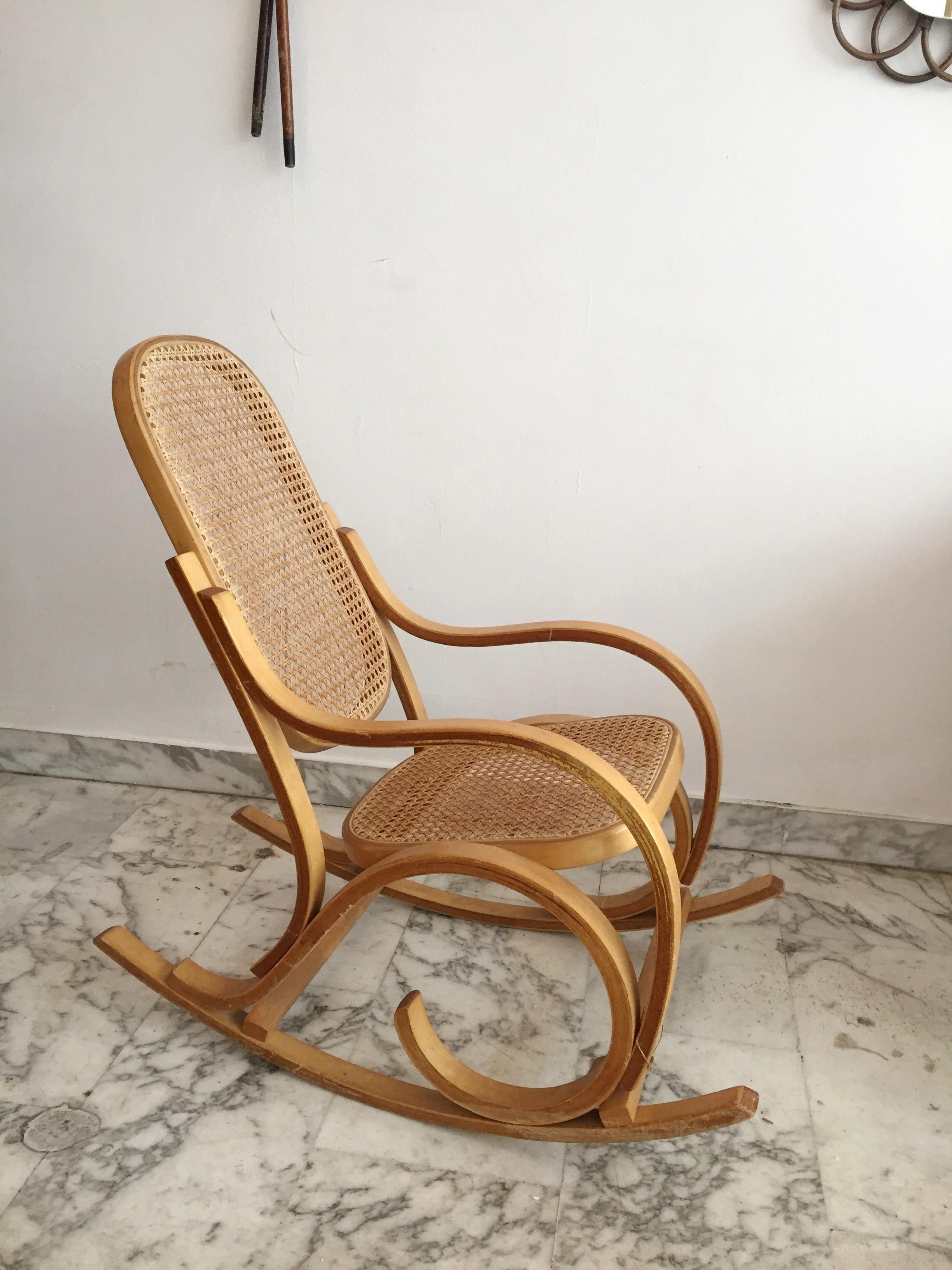 Attractive Vintage Kid Rocking Chair   1960s. Previous Next