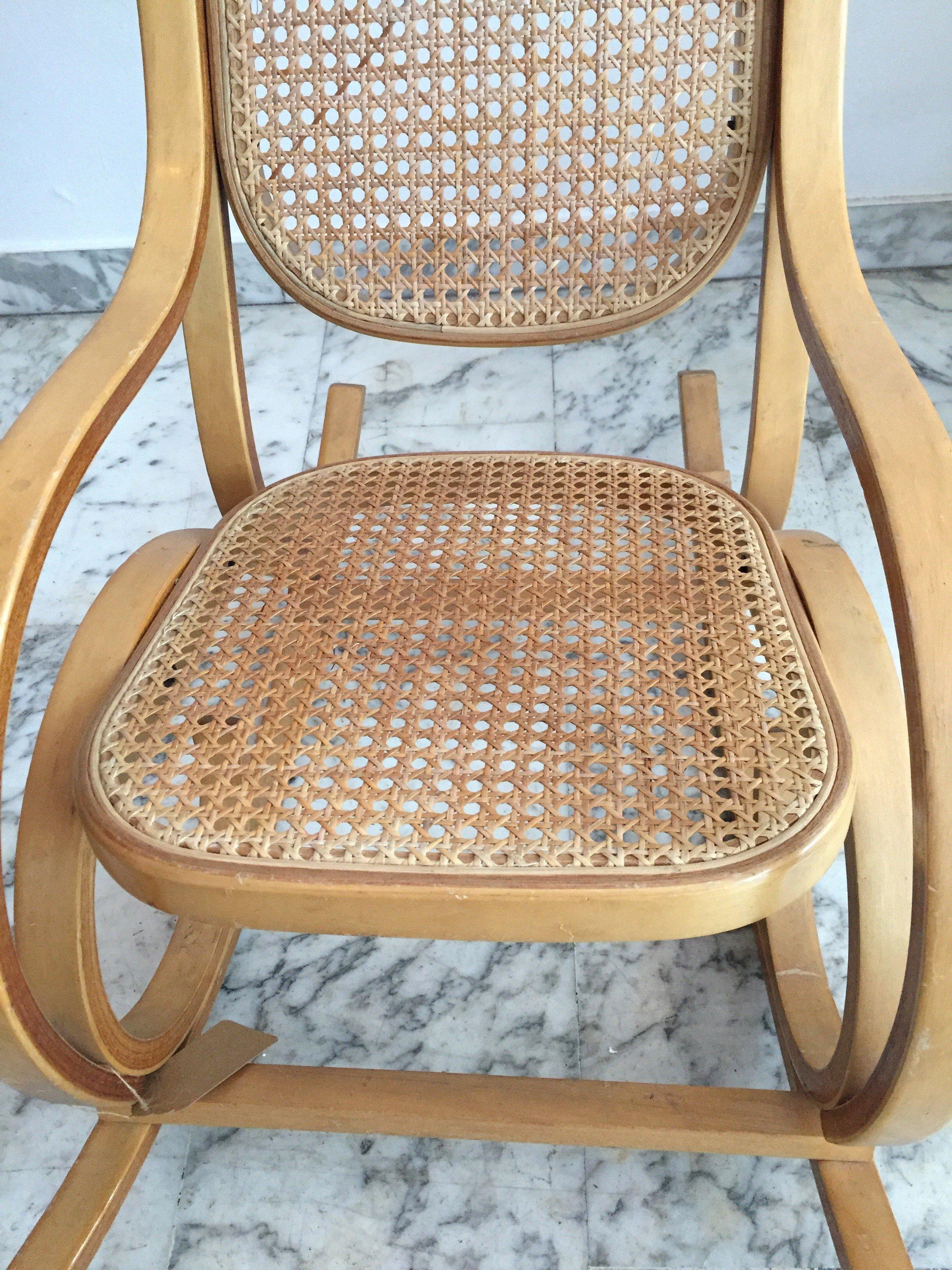 Vintage Kid Rocking Chair   1960s. Previous Next