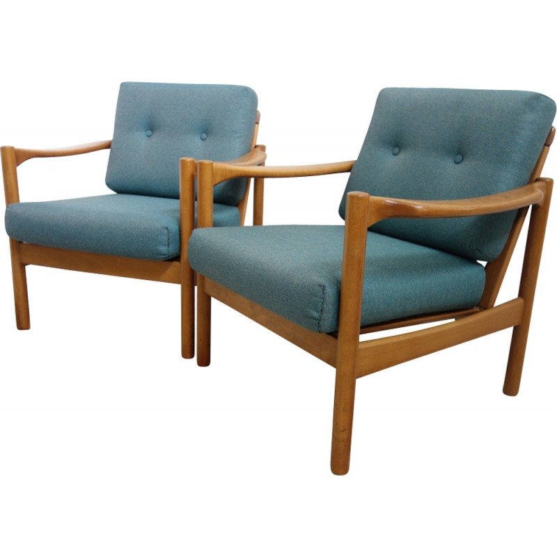 Walter Knoll Design Fauteuil.Pair Of Stella Armchairs By Walter Knoll 1960s Design Market