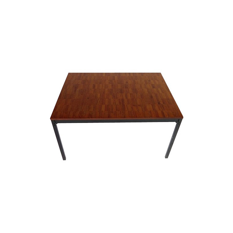 Dining table in teak, Dieter WAECKERLIN - 1960s