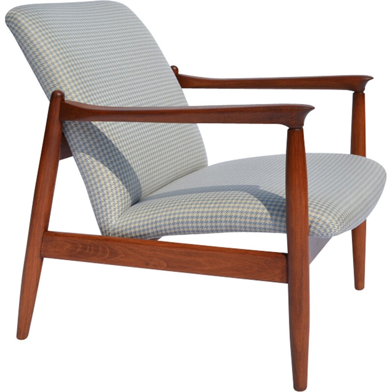 GMF-64 ARMCHAIRS with compact legs - 1960s