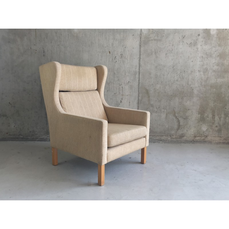 Danish mid century wingback armchair - 1960s. Vintage Design Furniture. Previous  sc 1 st  Design Market & Danish mid century wingback armchair - 1960s - Design Market