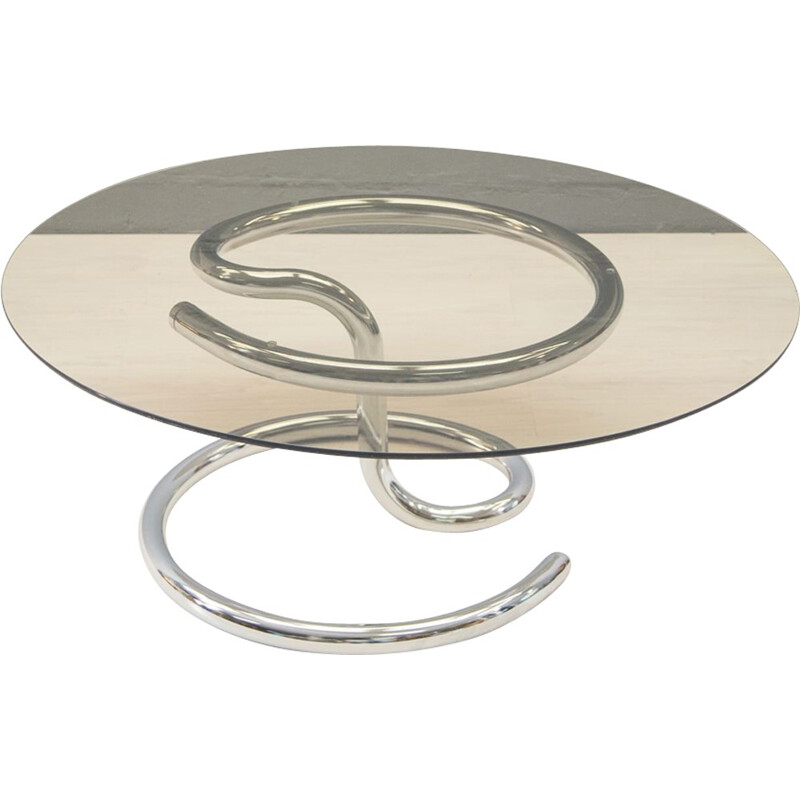 """""""Anaconda"""" Coffee Table by Paul Tuttle for Strässle - 1960s"""