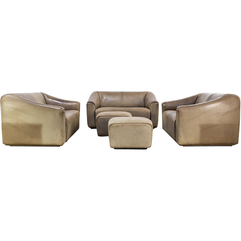 DeSede 'DS47' sofa seating group - 1960
