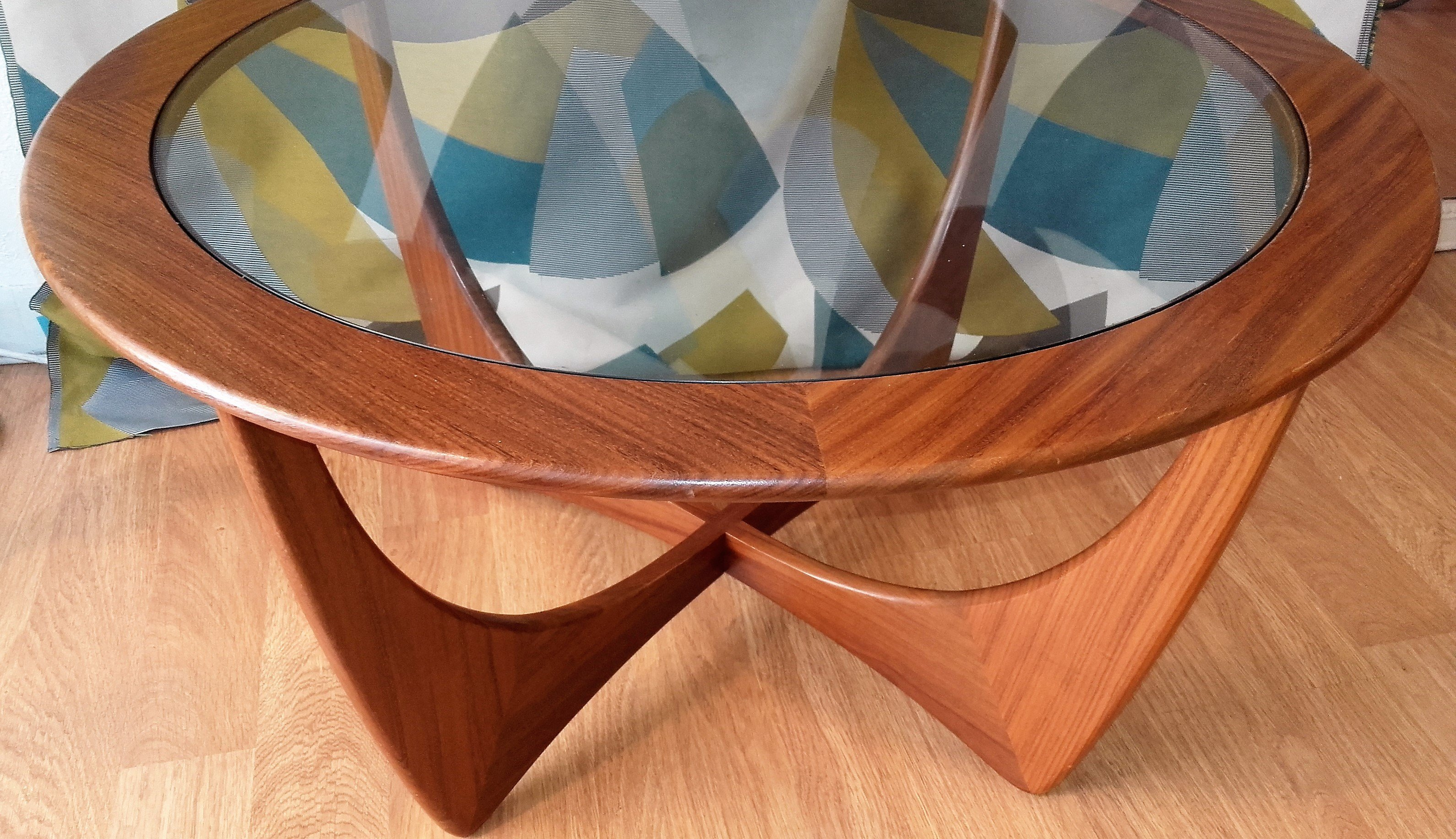 Round solid teak astro coffee table by v wilkins for g plan astro coffee table by v wilkins for g plan 1960s previous next geotapseo Choice Image