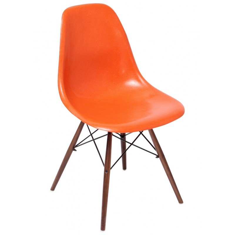 orange dsw chair charles ray - Chaise Annee 70