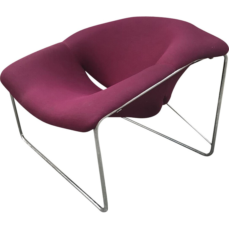 Cubic vintage armchair by Olivier Mourgue - 1960s
