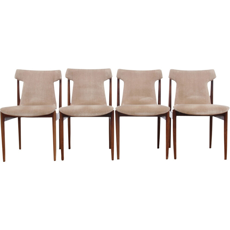 Set of 4 Rio rosewood chairs IK model - 1960s