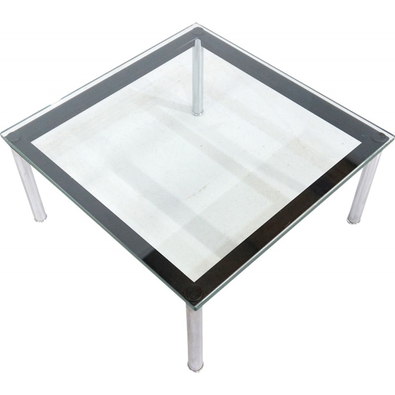 Glass Coffee Table LC10 By Le Corbusier For Cassina   1930