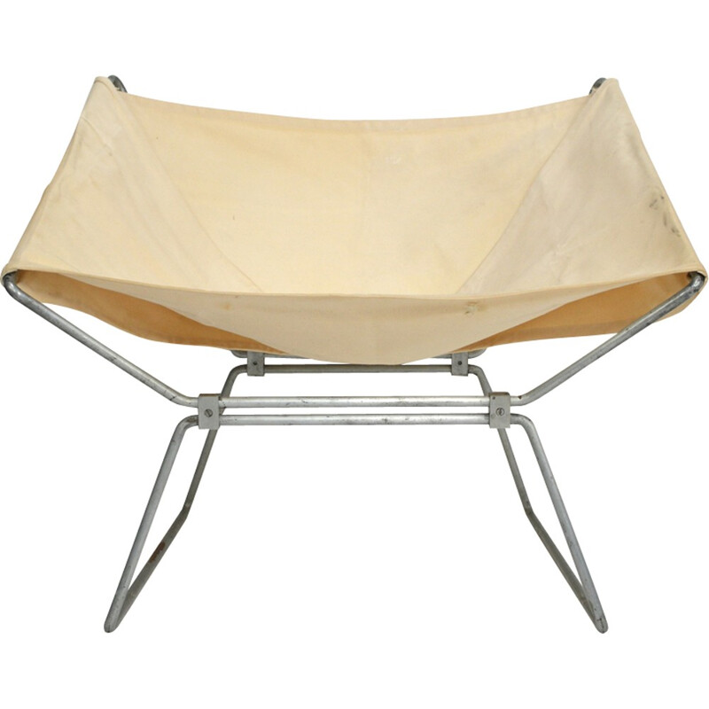Pierre Paulin 1st Edition AP14 Butterfly Chair by Pierre Paulin - 1950s