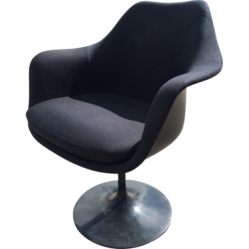 Black Tulip Saarinen armchair - 1970s