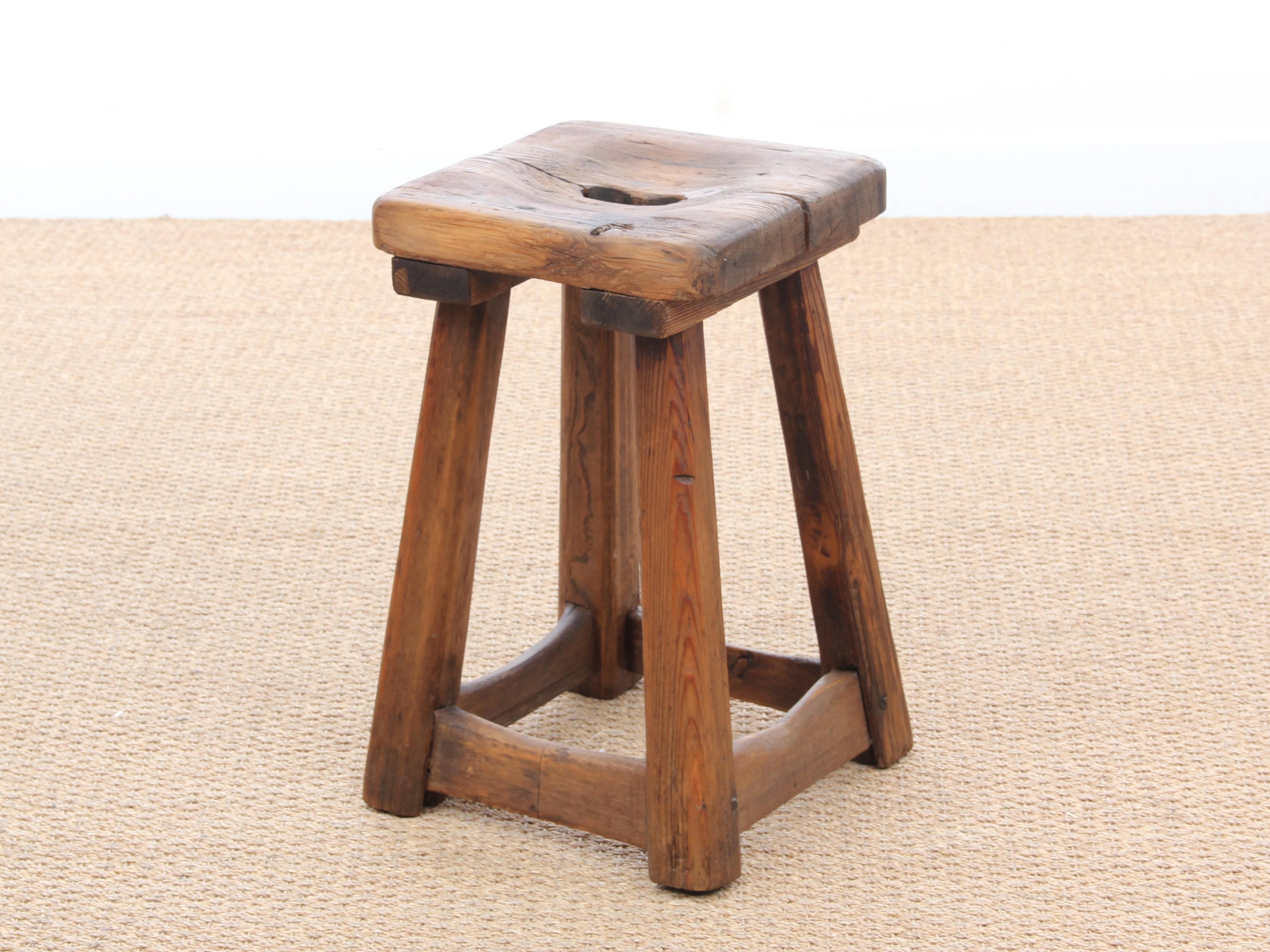 Miraculous Mid Century Swedish Pin Stool 1930S Design Market Inzonedesignstudio Interior Chair Design Inzonedesignstudiocom