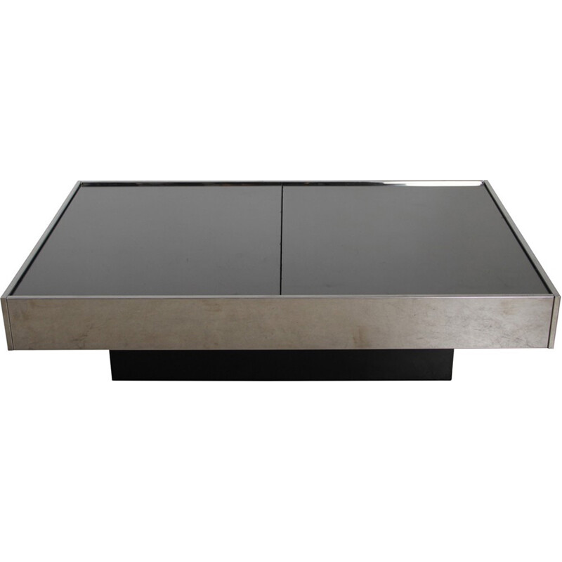 Coffee table vintage by Willy Rizzo - 1970s