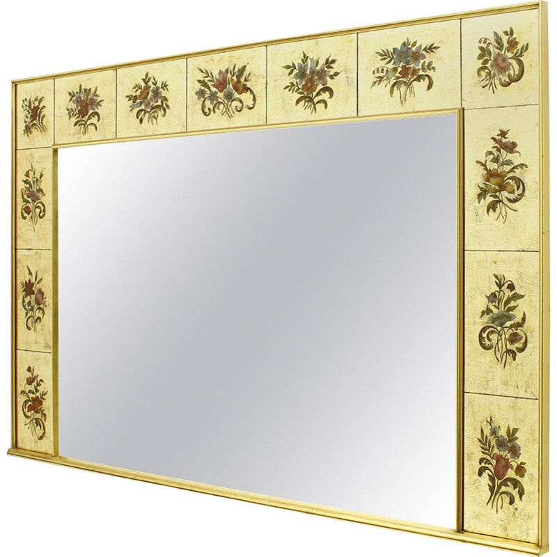 Decorative Large Mirror from France - 1980s