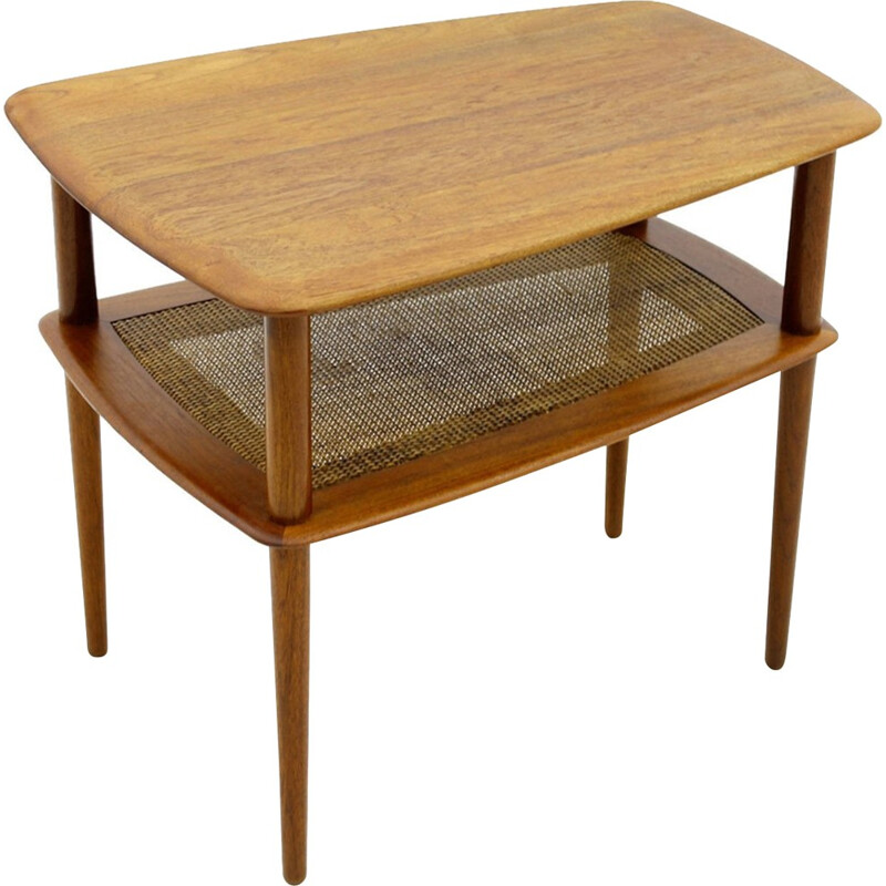 Side Table by Peter Hvidt & Orla Molgaard Nielsen for France & Daverkosen - 1950s