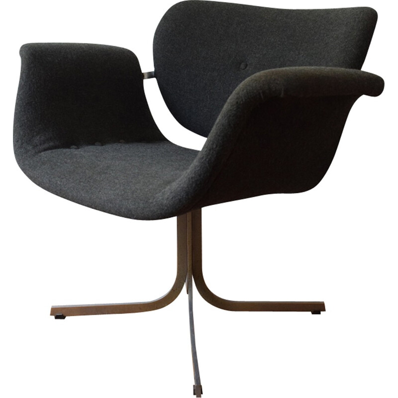 "Vintage ""F543"" Armchair by Pierre Paulin for Artifort - 1960s"