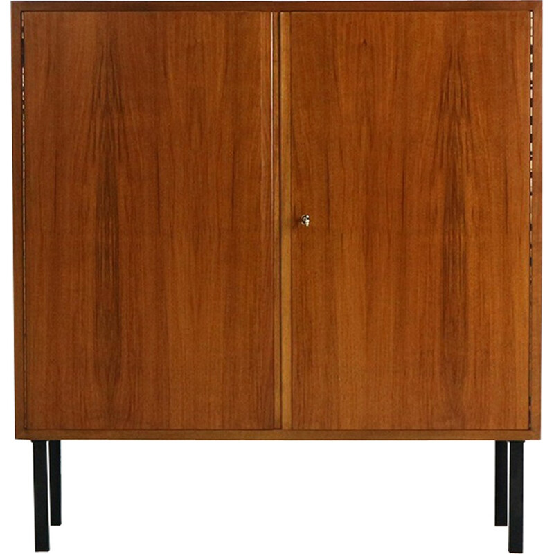 Small walnut high board vintage for WK - 1960s