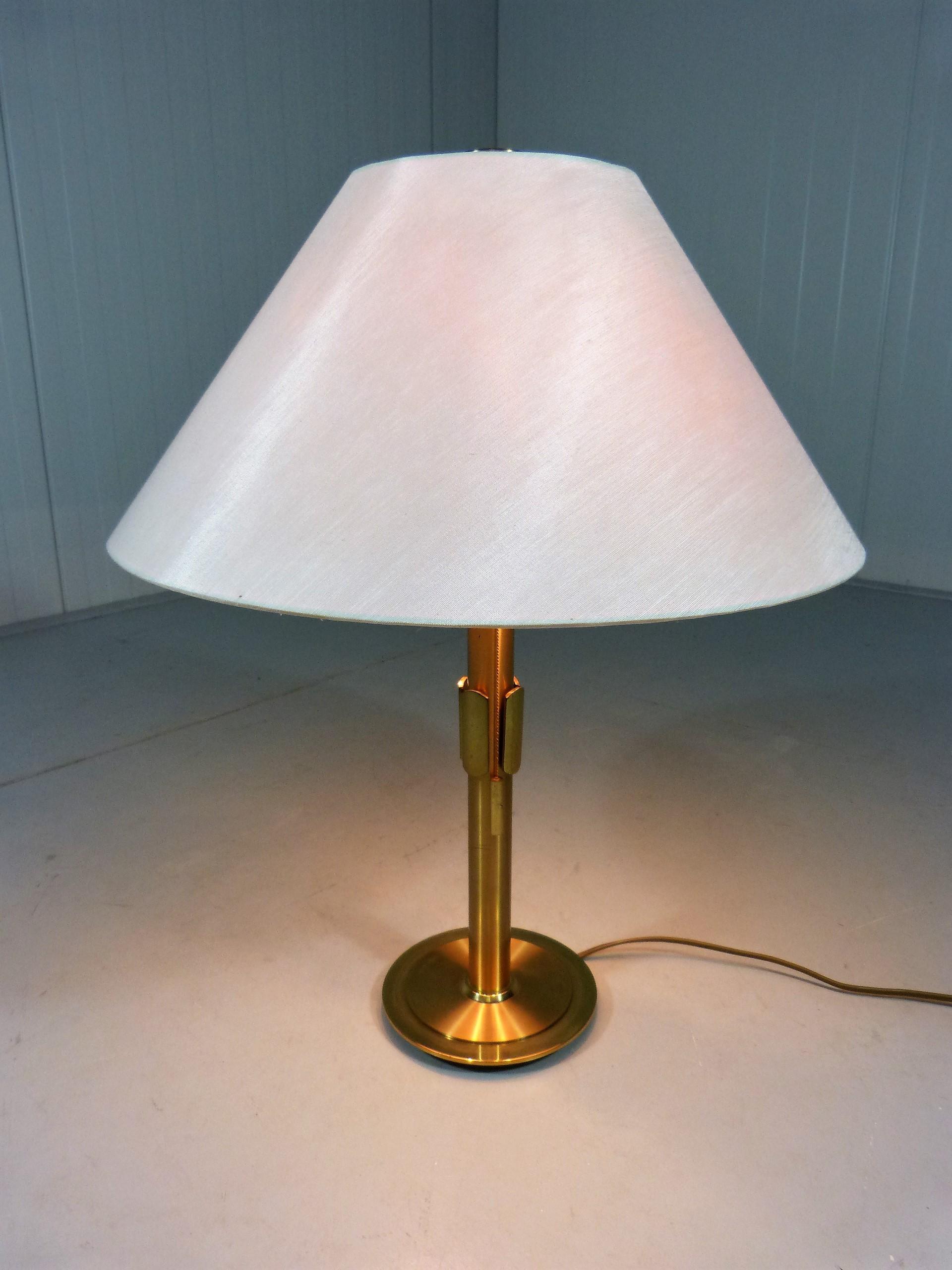 Brass vintage table Lamp - 1970s - Design Market