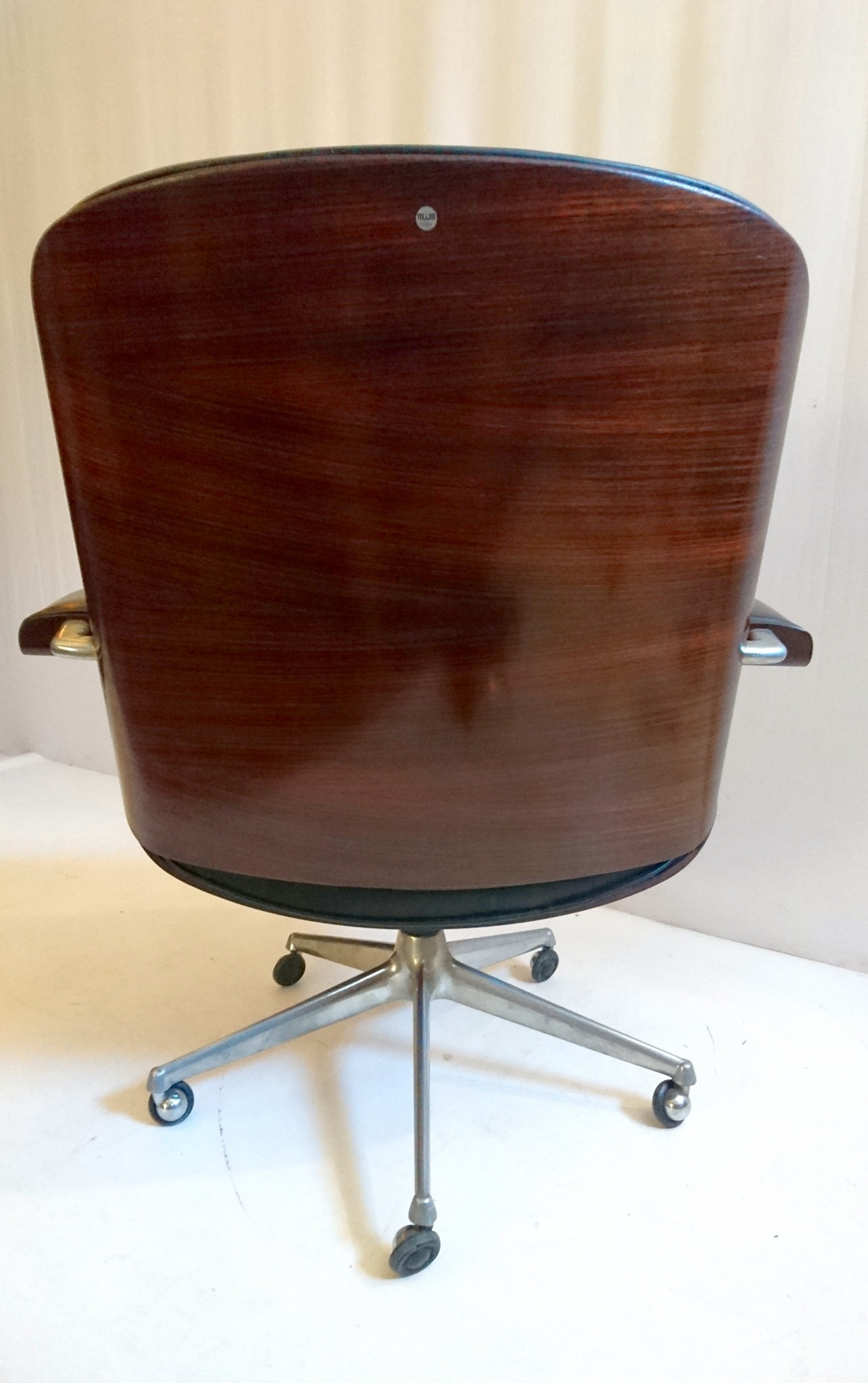 Swivel Desk Chair By Ico Parisi For Mim Rome 1950s