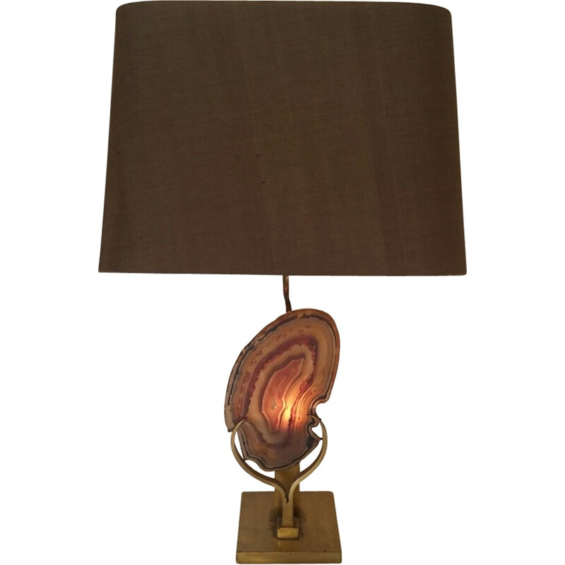 Fossile table lamp Willy Daro - 1970s