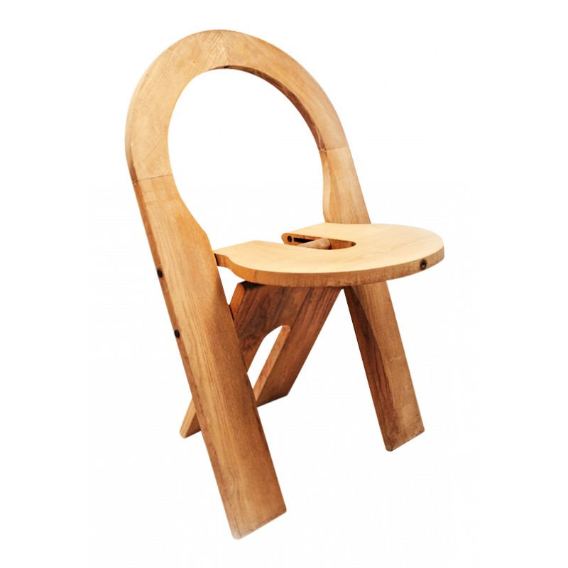 Wooden Folding Chair Roger Tallon 1978 Design Market