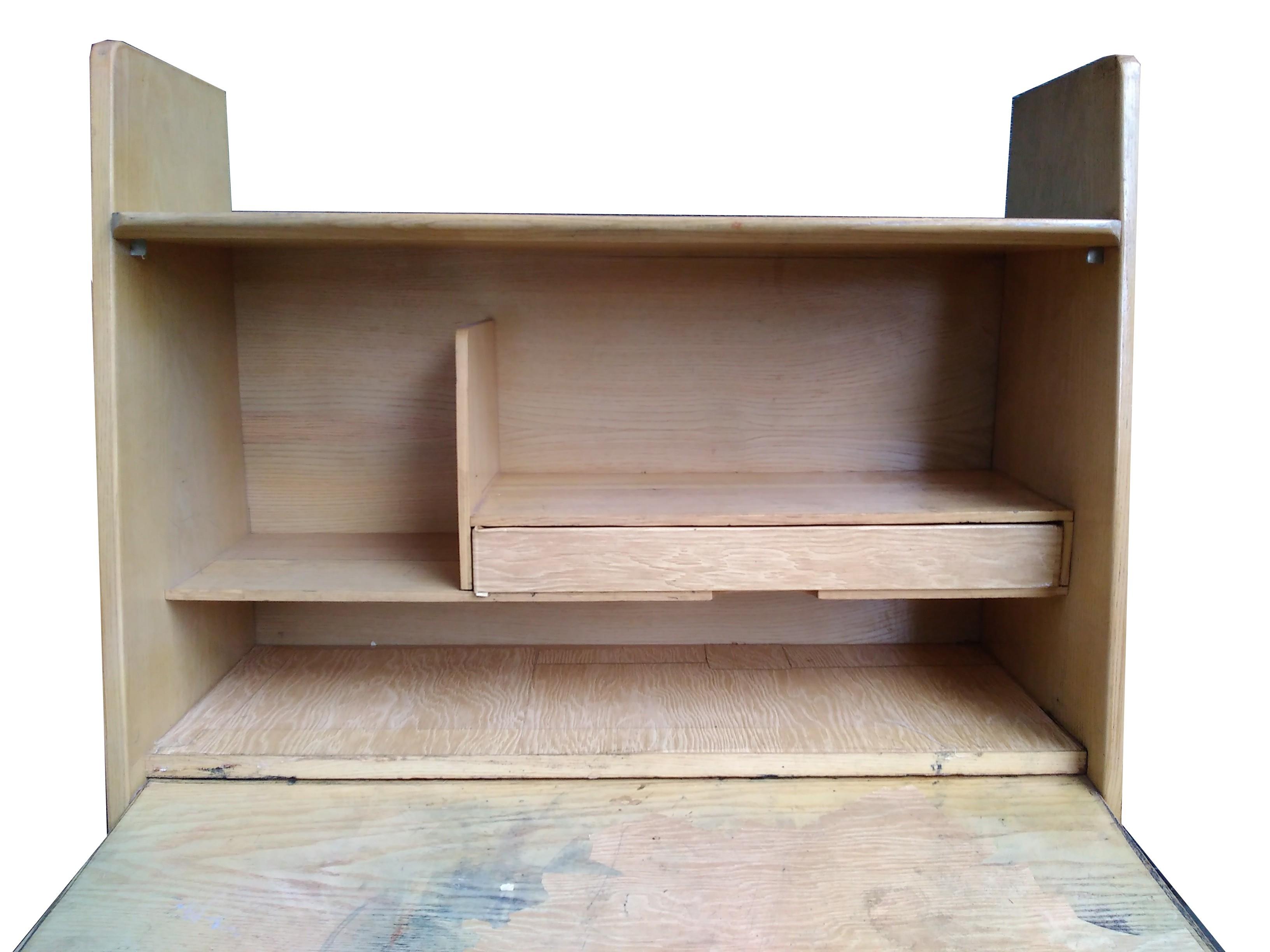 Wall Secretary Desk By Marcel Gascoin 1940s Previous Next
