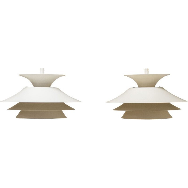 Pair of Carina pendant lights by Design Light AS - 1970s