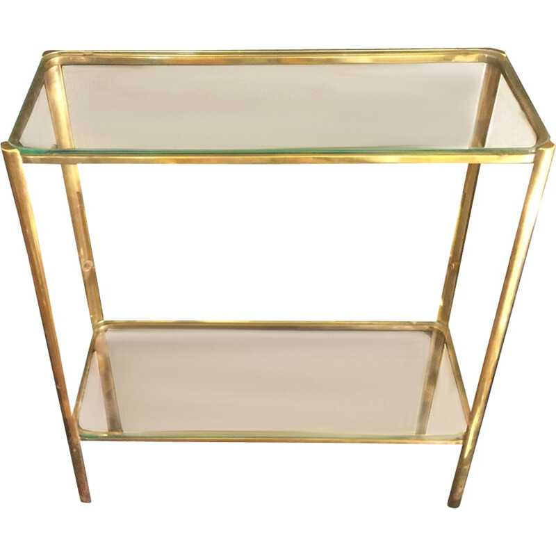 Side table by Maison Malabert - 1970s
