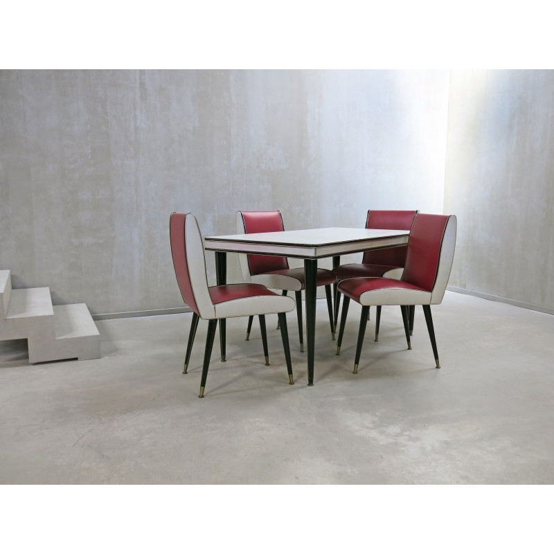 Mid Century Dining Set By Umberto Mascagni For Harrods