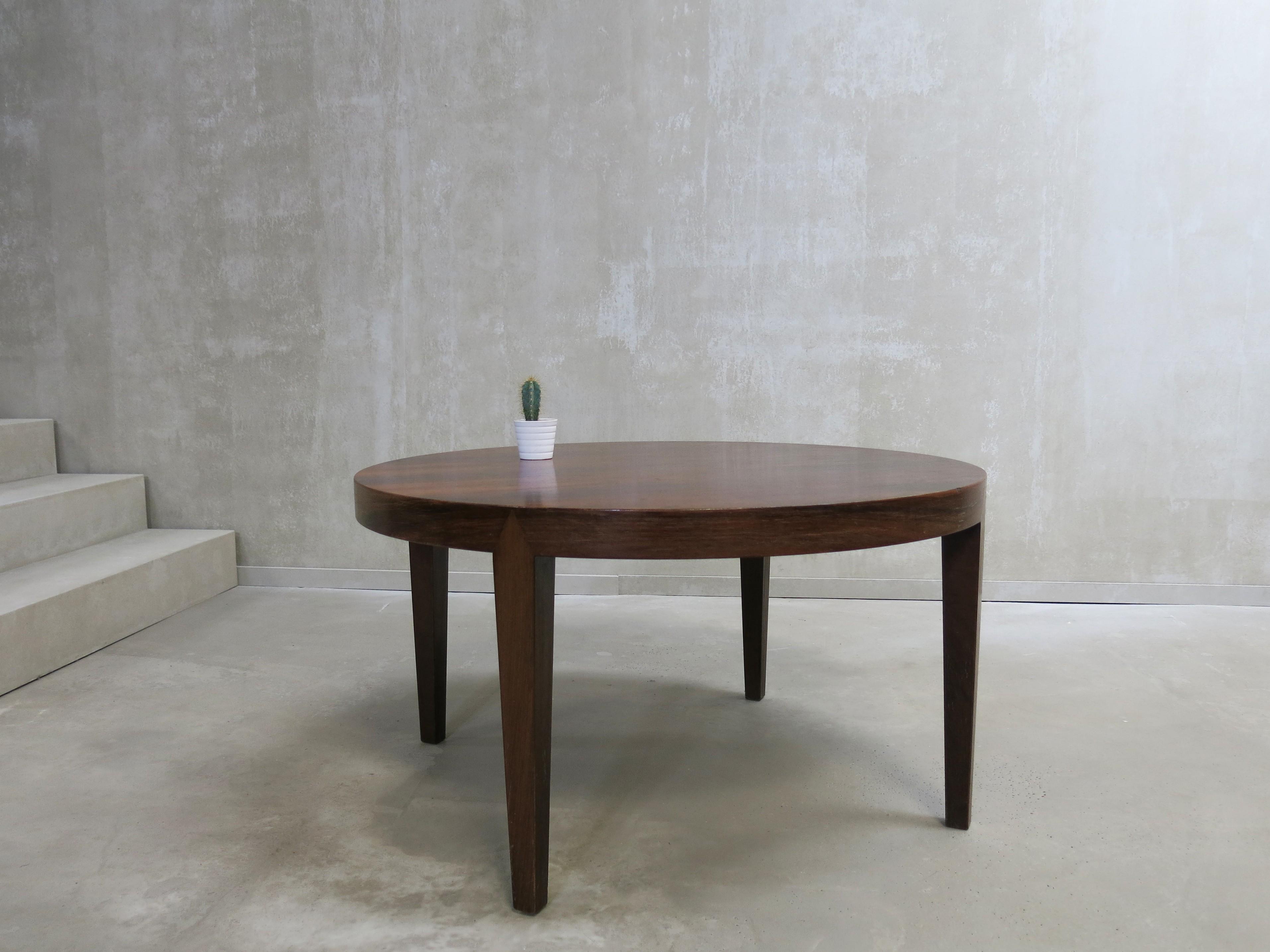 Vintage Danish Round Coffee Table 1960s Previous Next