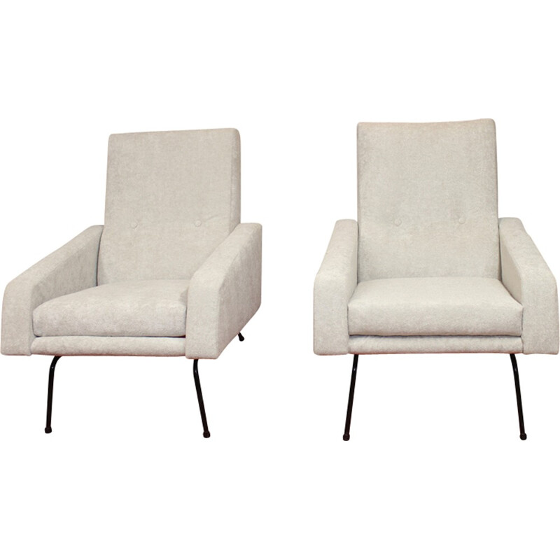 A pair of armchairs by Pierre Guariche from 1950