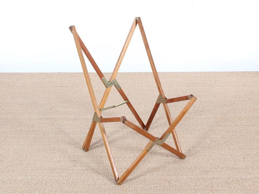 Peachy Vintage Beech Wood Tripolina Easy Chair By Joseph B Fenby 1980S Evergreenethics Interior Chair Design Evergreenethicsorg