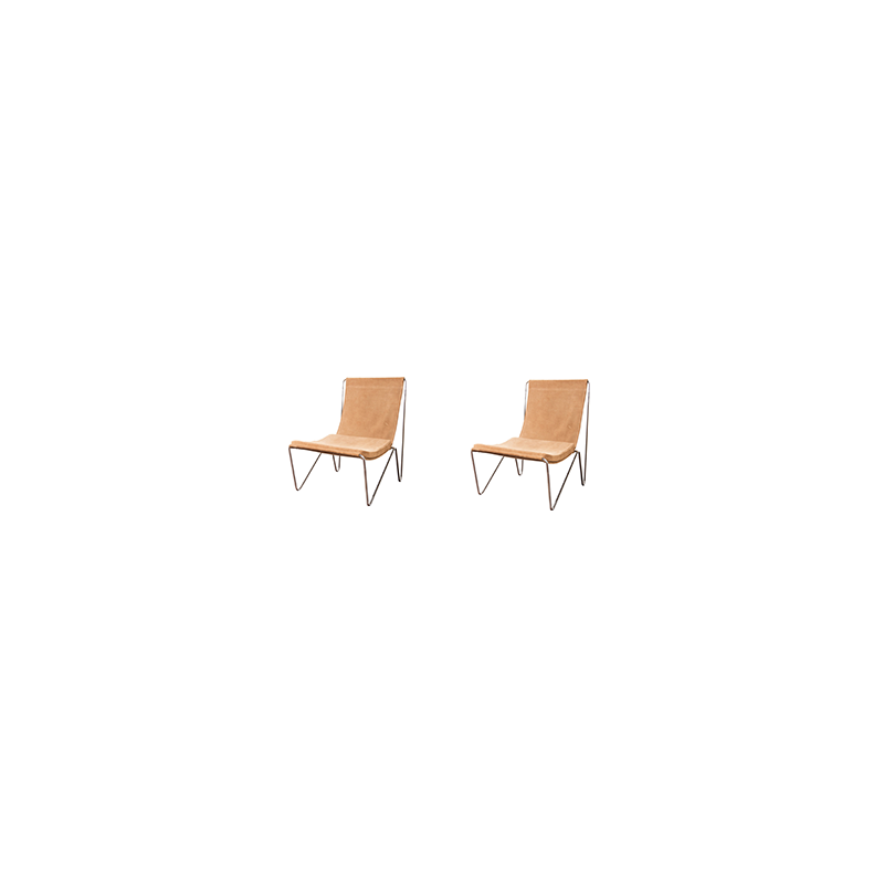 Pair of easy chairs 'Bachelor' by Verner Panton - 1950s