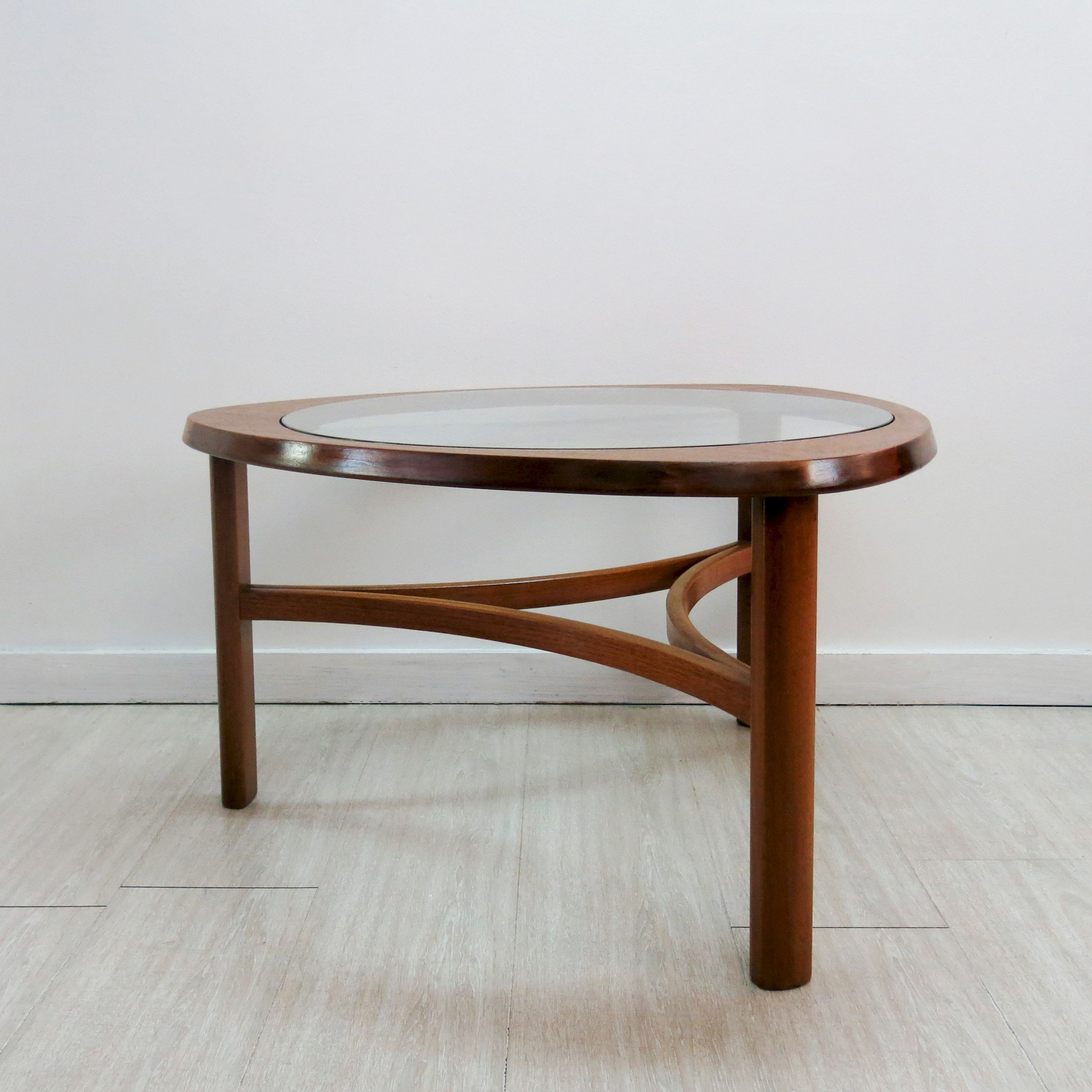 Triangular coffee table for Nathan 1960s Design Market