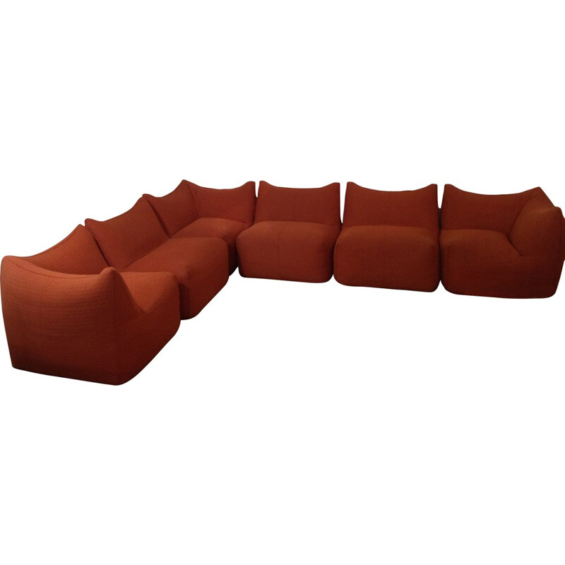 "Set of living room ""Bambole"" by Bellini - 1970s"