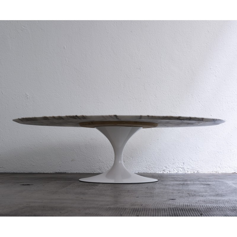 Oval Marble Coffee Table By Eero Saarinen   1960s. Vintage Design  Furniture. Previous