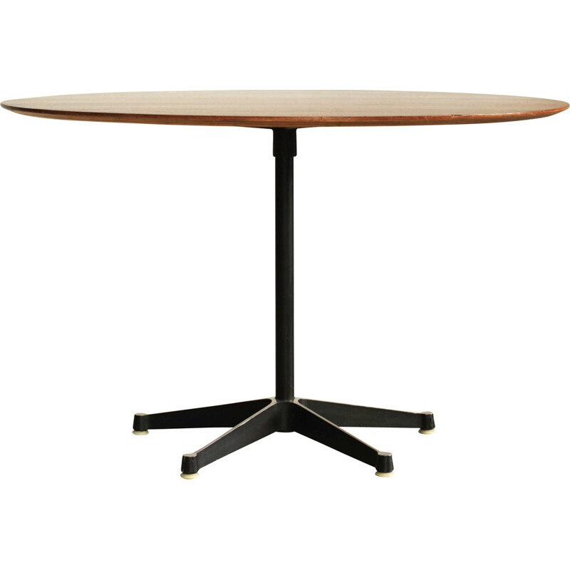 Round vintage table by Charles & Ray Eames - 1960s