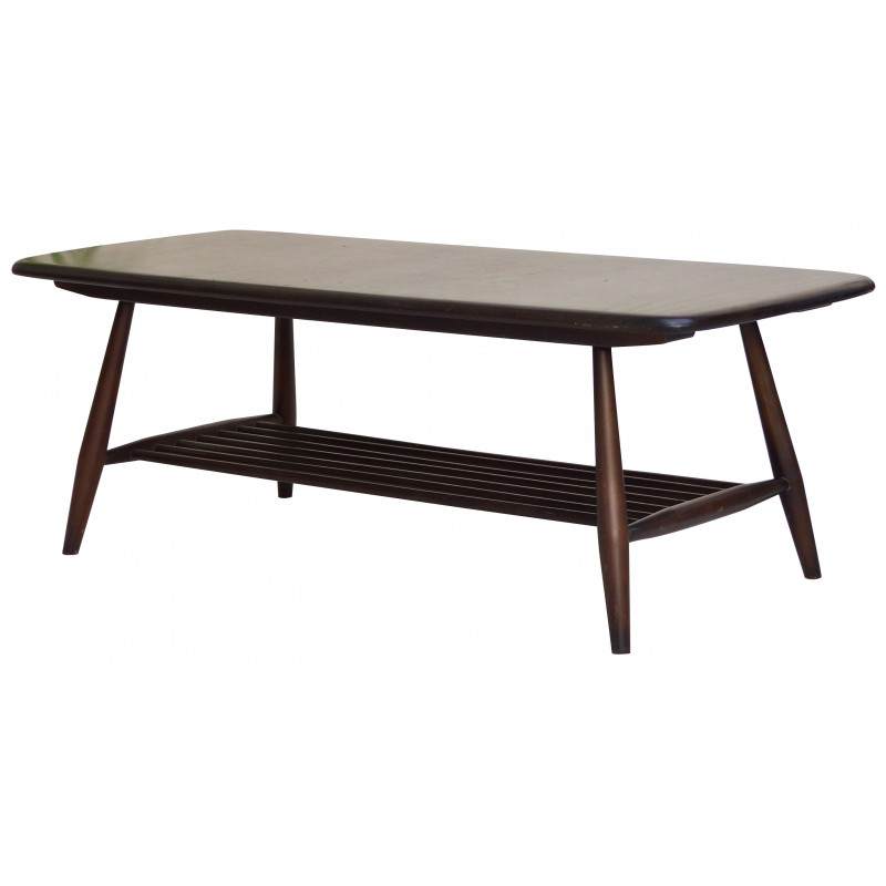 Coffee Table In Ash And Beech Lucian Ercolani 1960s