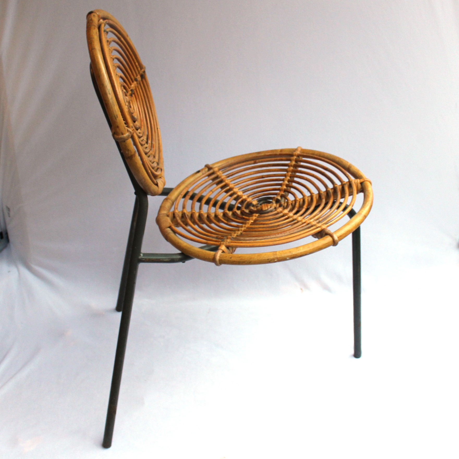 of price chair gilt bamboo metal per set faux chairs