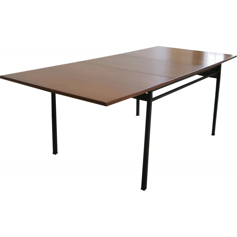Dining table by Marcel Gascoin for Alvéole - 1950s
