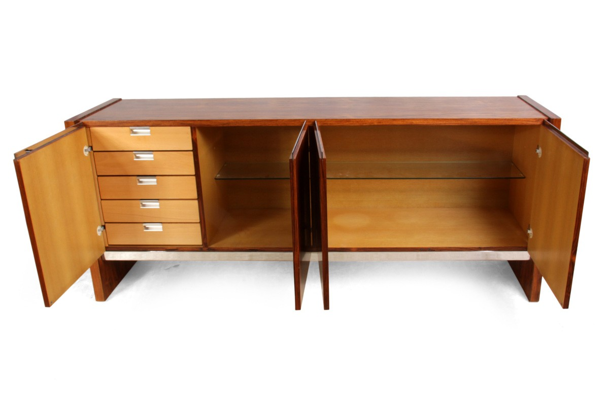Cocobolo vintage sideboard by merrow associates 1970s design market
