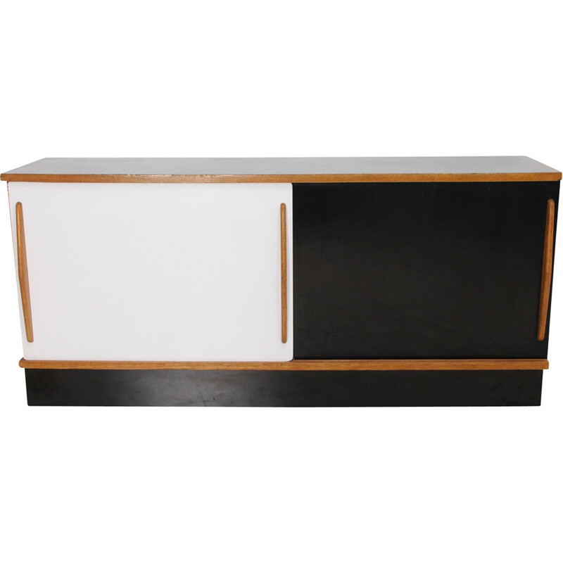 """Cansado"" sideboard by Charlotte Perriand for Steph Simon - 1958"
