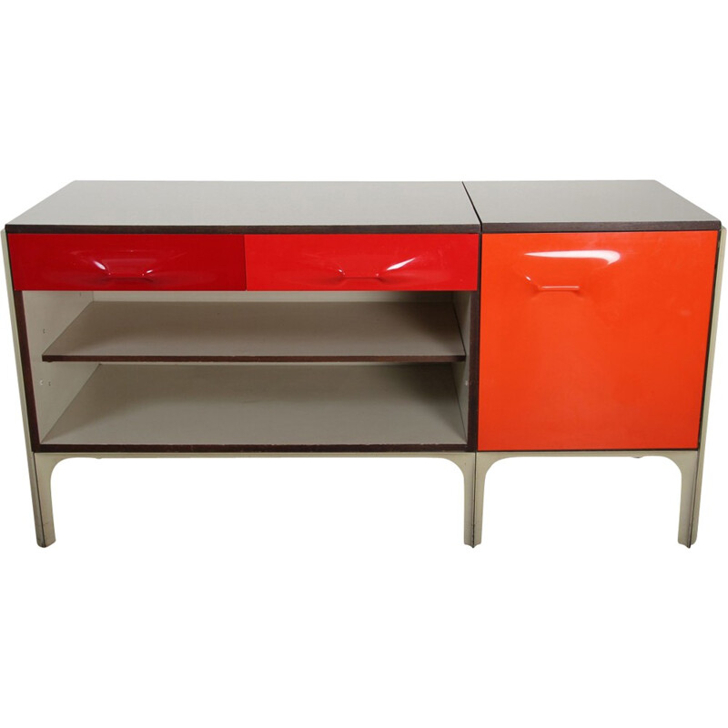 Vintage desk by Raymond Loewy for DF2000 - 1960s